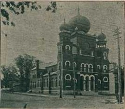 Temple Israel's grand 1893 synagogue