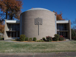 Temple Israel's 1963 synagogue